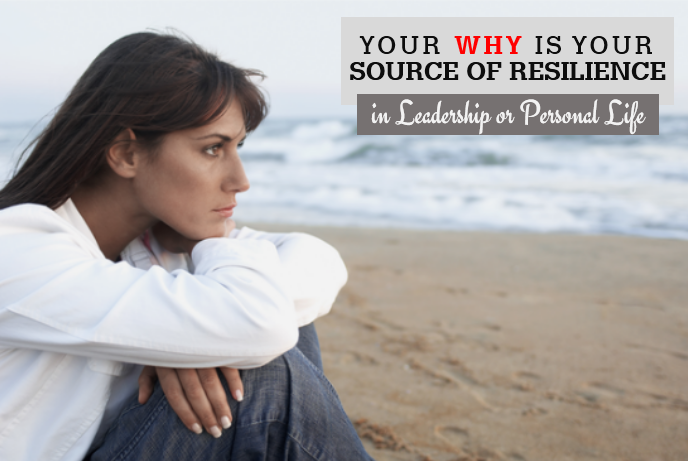 Your Why is Source of your Resilience, in Leadership or Personal Life