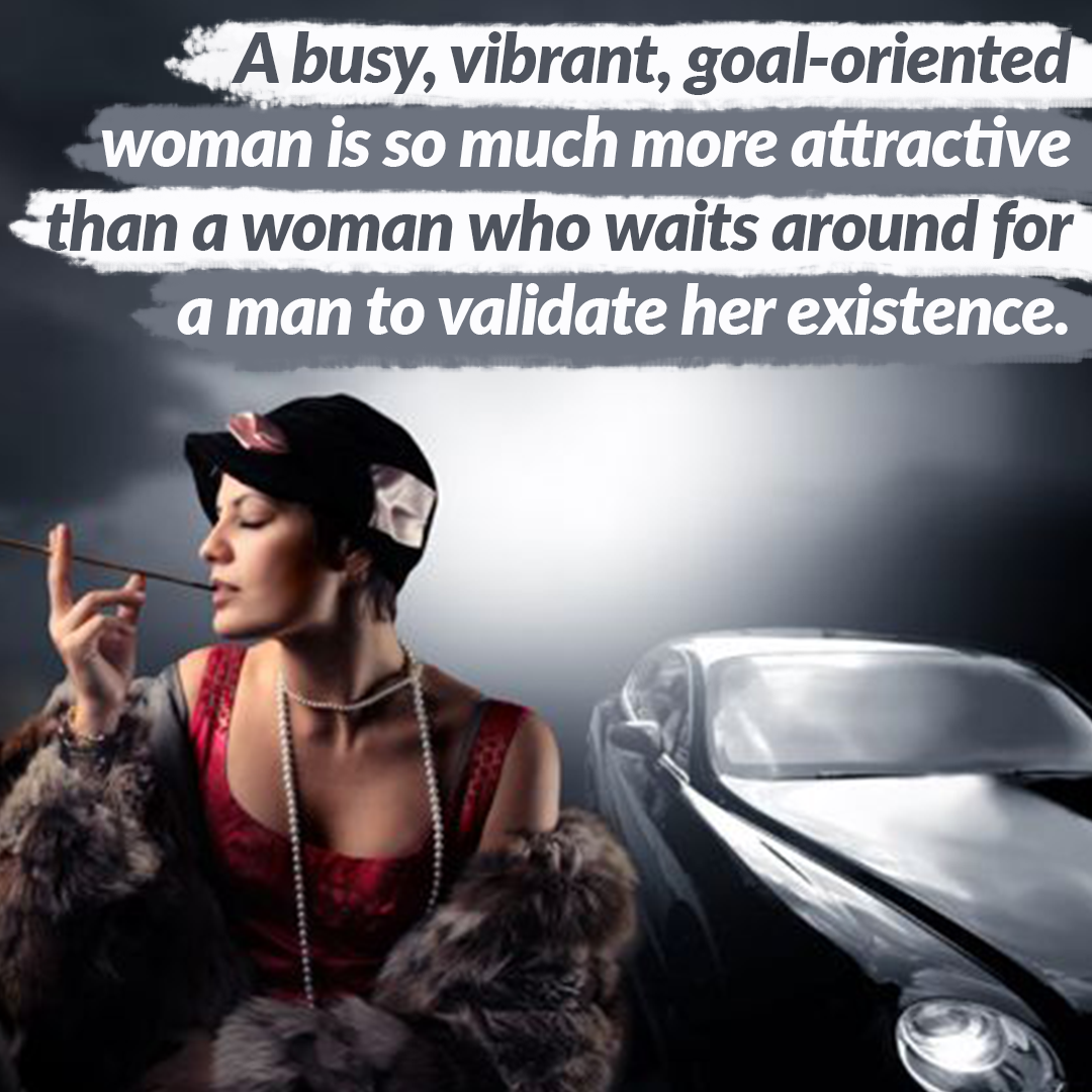 A Goal-oriented Woman