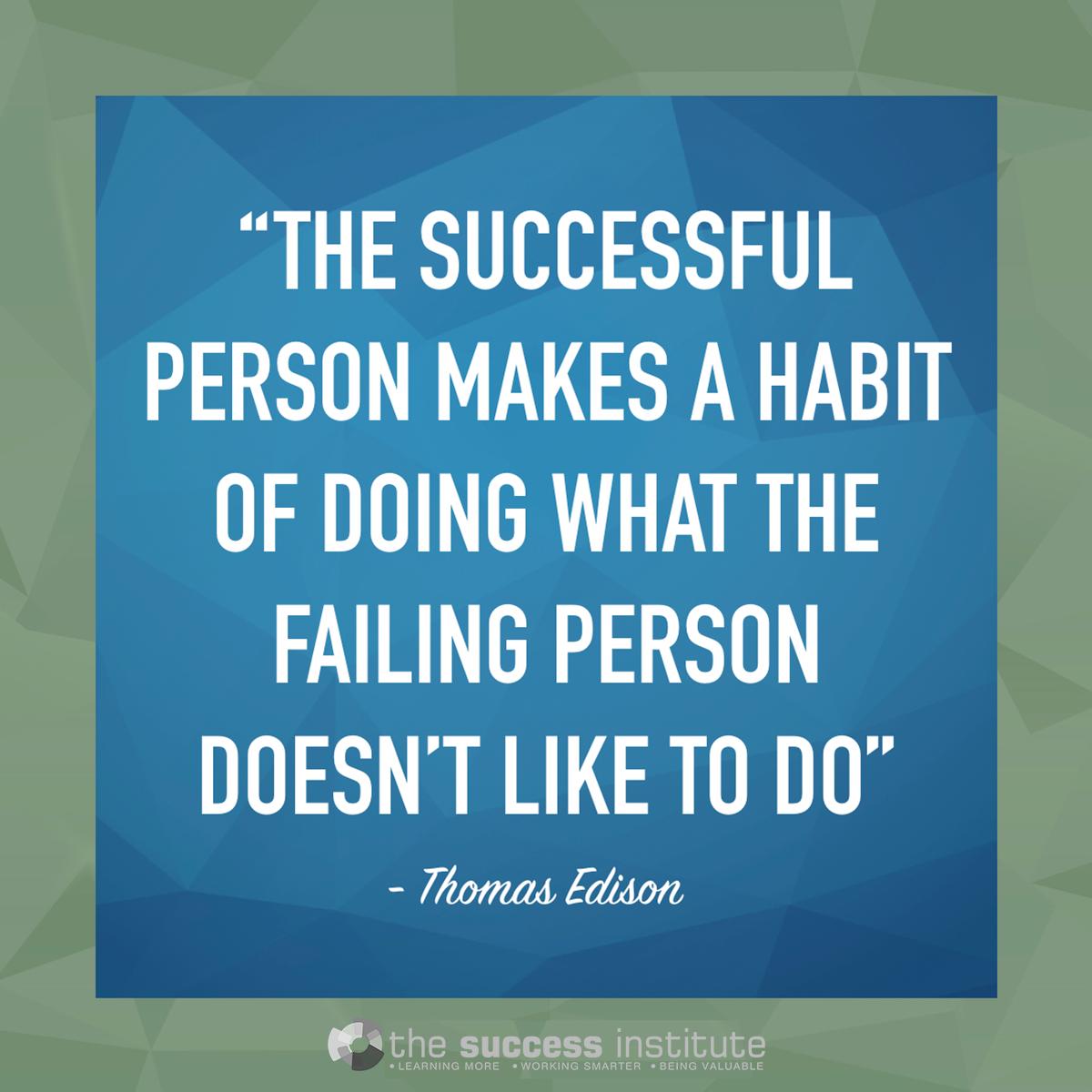 Successful vs Failing Person
